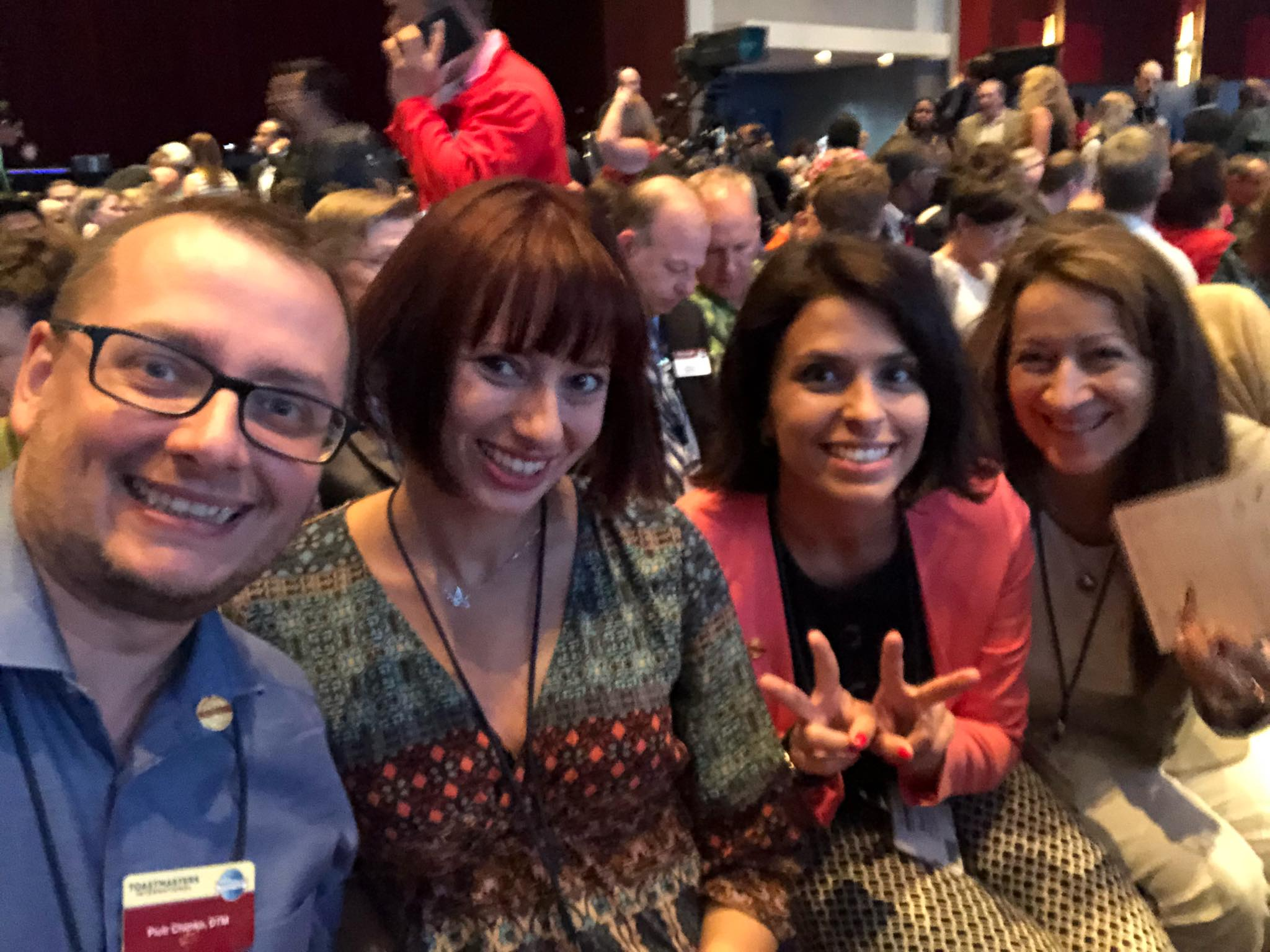Toastmasters International Convention 2018. Windy City – Warm Welcome!